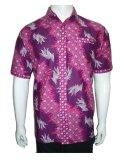 Jual Beli Batik Solo Bo4002 Kemeja Batik Pria Parang Ungu