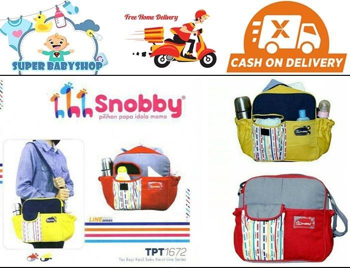 Tas Bayi Kecil Snobby/ Diaper Bag Snobby Kecil By Super Babyshop.