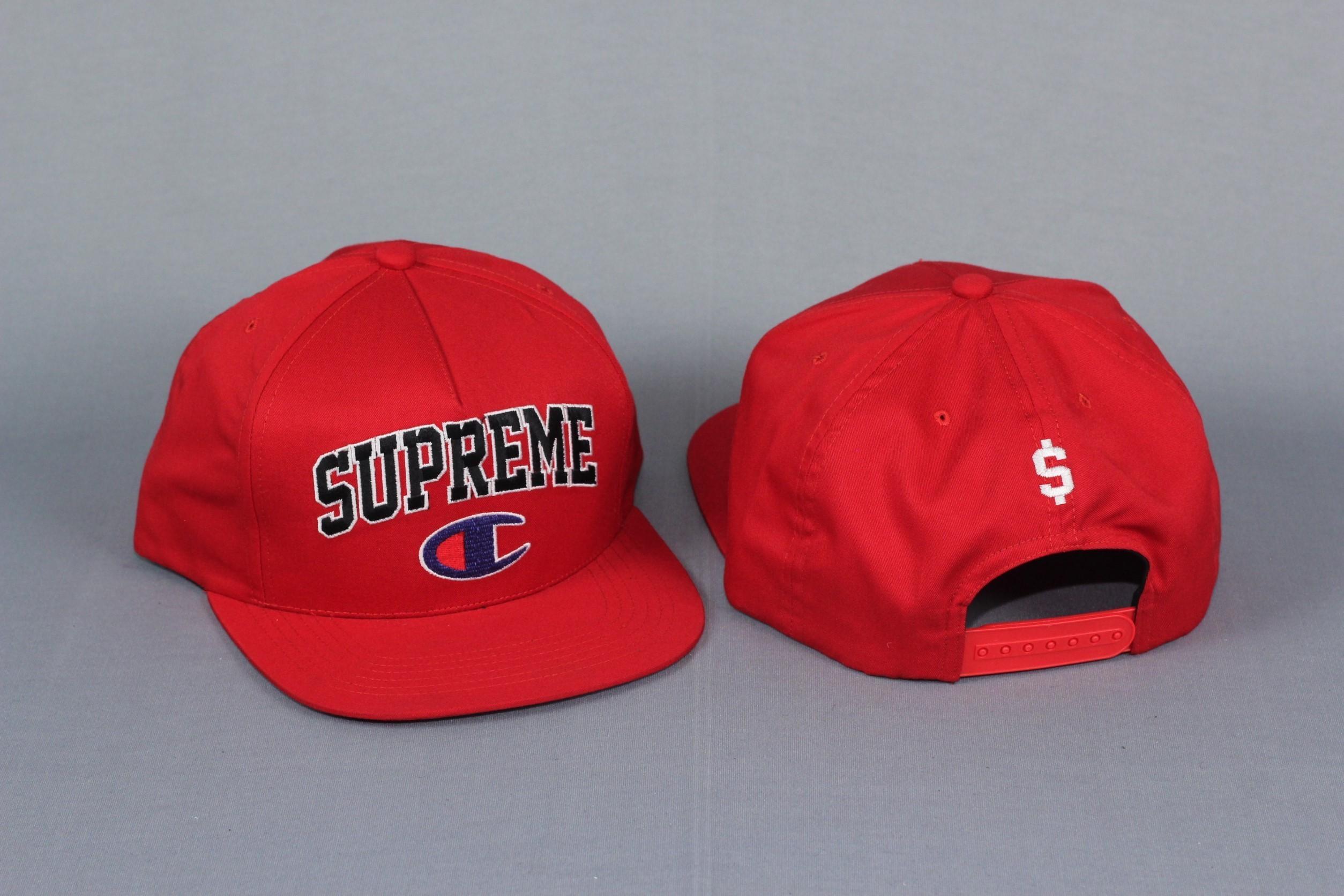 48a9d109e Topi SUPREME X CHAMPION Snapback Hat