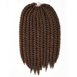12 75G Originea 3 Packs Lot Synthetic Havana Mambo Twist Braid Hair Extension 2X Color M4 30 Di Tiongkok