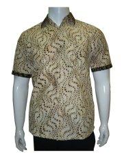 Harga Batik Solo Bo4019 Kemeja Batik Pria Motif Cipratan Merk Batik Solo