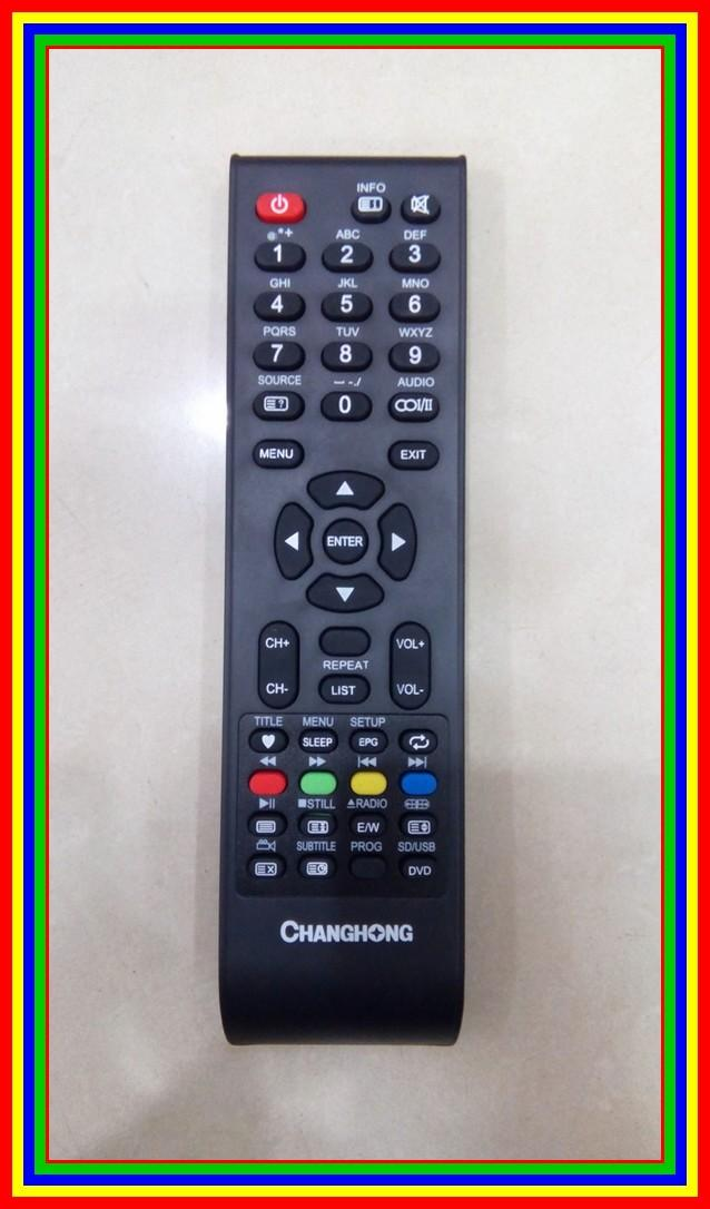Remot/Remote TV Changhong LCD/LED Ori/Original/Asli