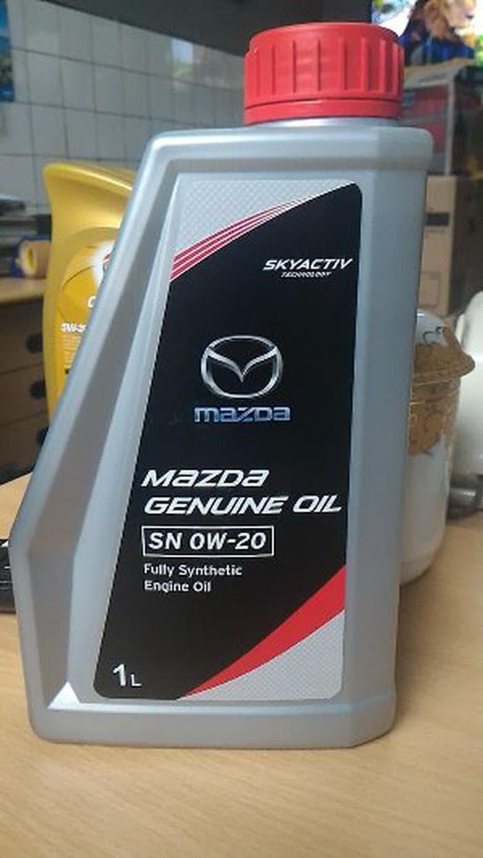 CUCI GUDANG Oli Mazda Genuine SAE 0W20 API SN kemasan liter
