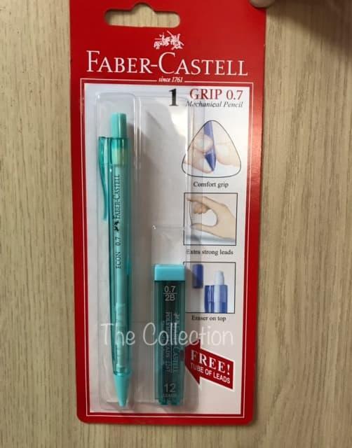 PROMO ATK243FC Paket 0.7mm Pensil Mekanik Faber Castell 0.7 mm + Free 134301 - aeoOPKuy