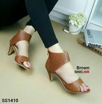VANILLA - selop laser gelang/ high heels murah / high heels / sepatu keren / sandal keren / high heels unik / sepatu wanita / sandal wanita