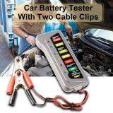 Jual 12V Car Motorcycle Digital Battery Alternator Tester Led Display Indicate Ma494 Ori