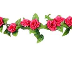 13 Kepala Menyenangkan Alam 1 String Buatan Gantung Daun Bunga Mawar Tanaman  Banyak Bunga Palsu Dekorasi fdea00a131