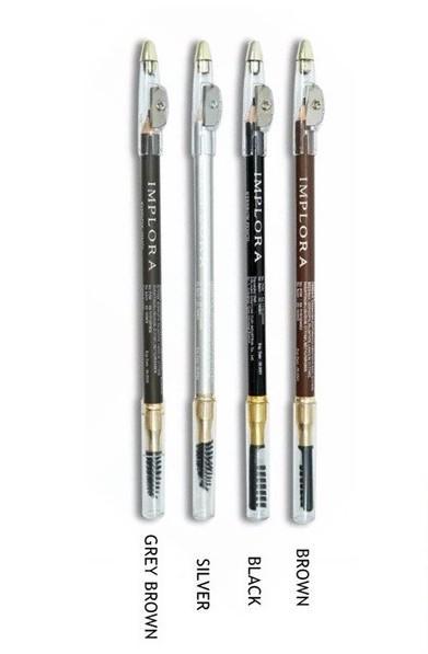 Pensil Alis Implora 2in1 (Pensil Alis dan Sikat) BPOM Original