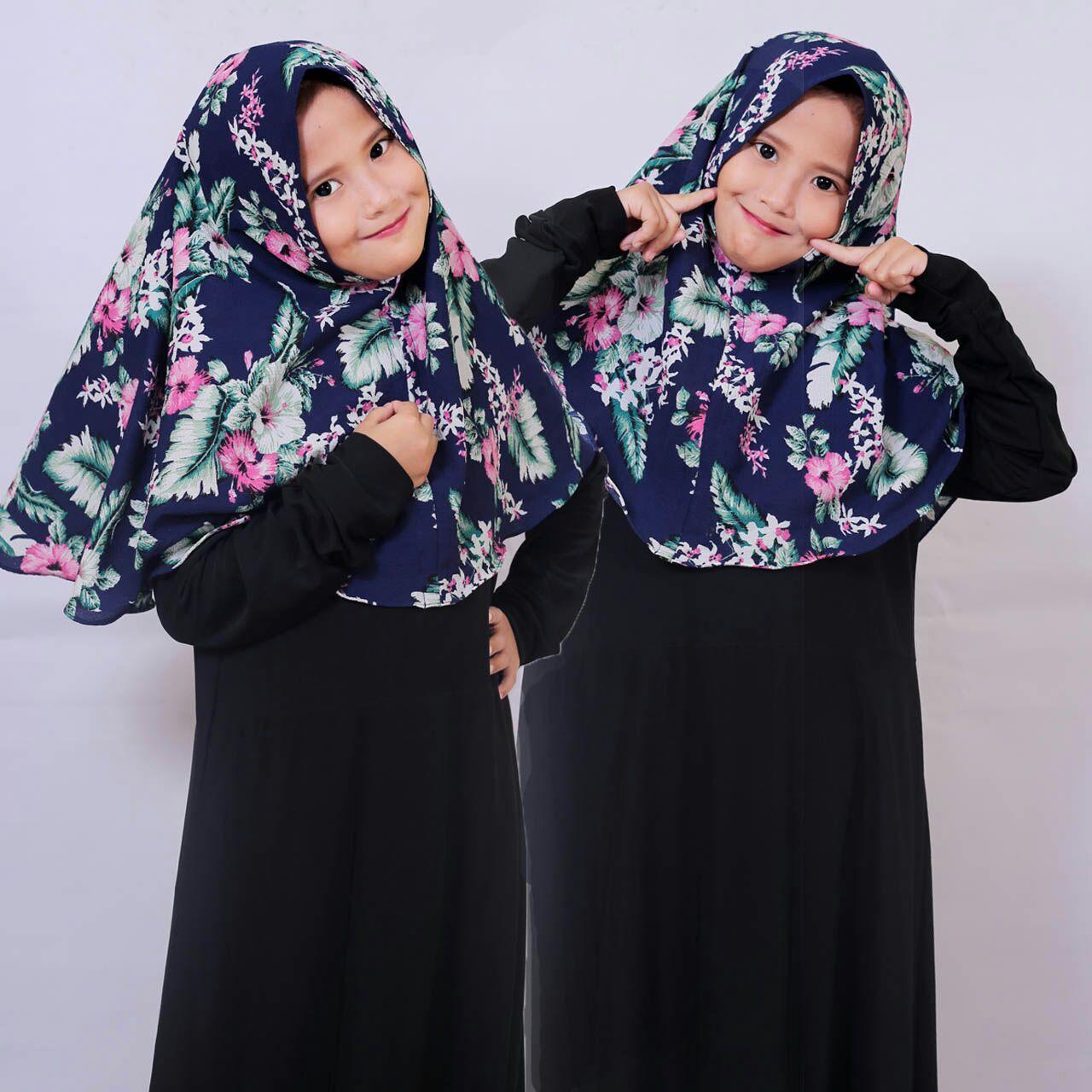 model scraf-hijab anak2 motif /hijab instan/khimar syar'i terbaru/jilbab cantik