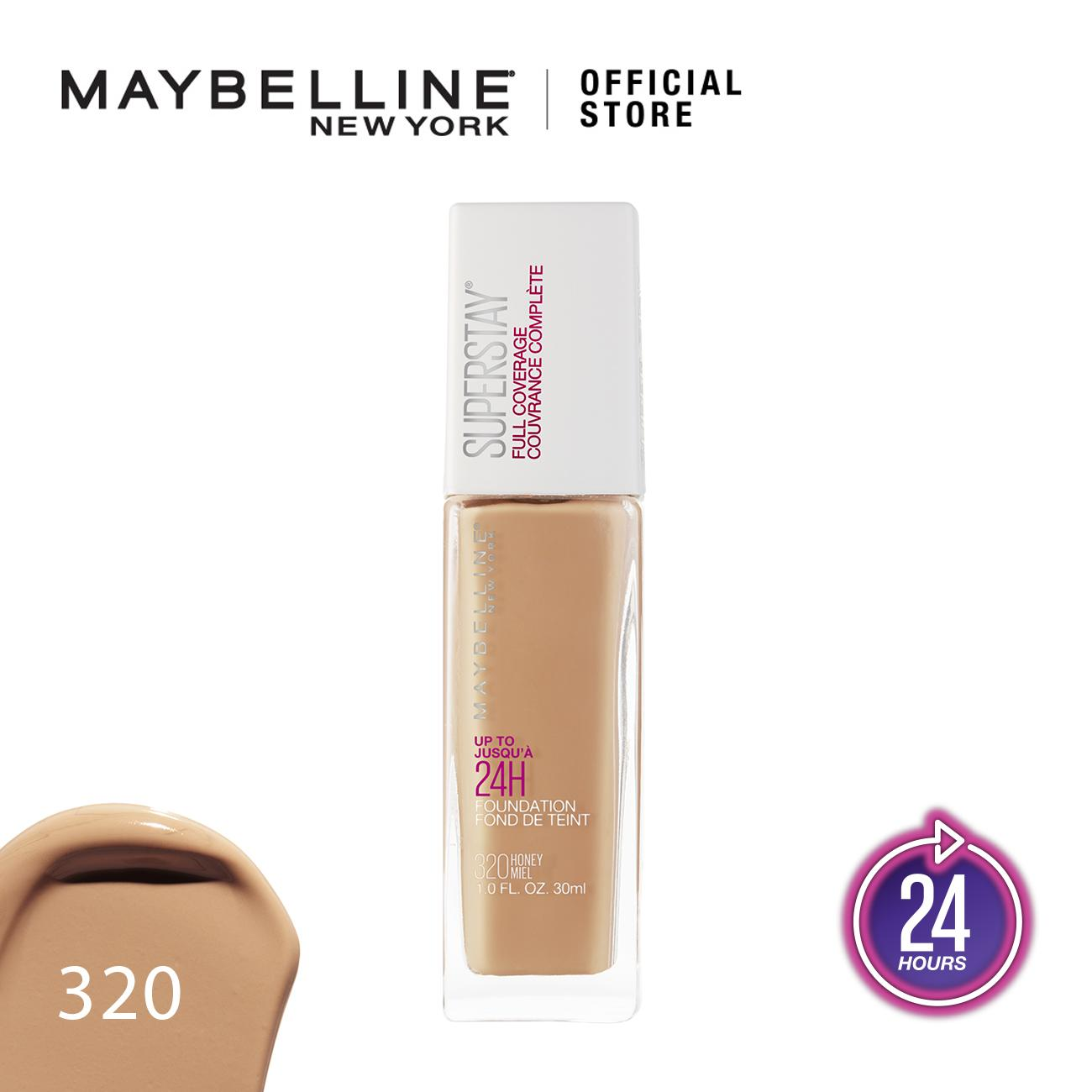 Maybelline Superstay Foundation - Matte Foundation Tahan Lama 24 Jam By Maybelline Indonesia