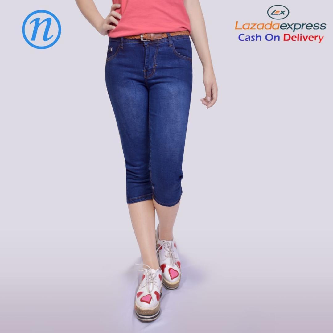 celana pendek wanita 3 4 celana pendek wanita santai distro ce7e54eedd