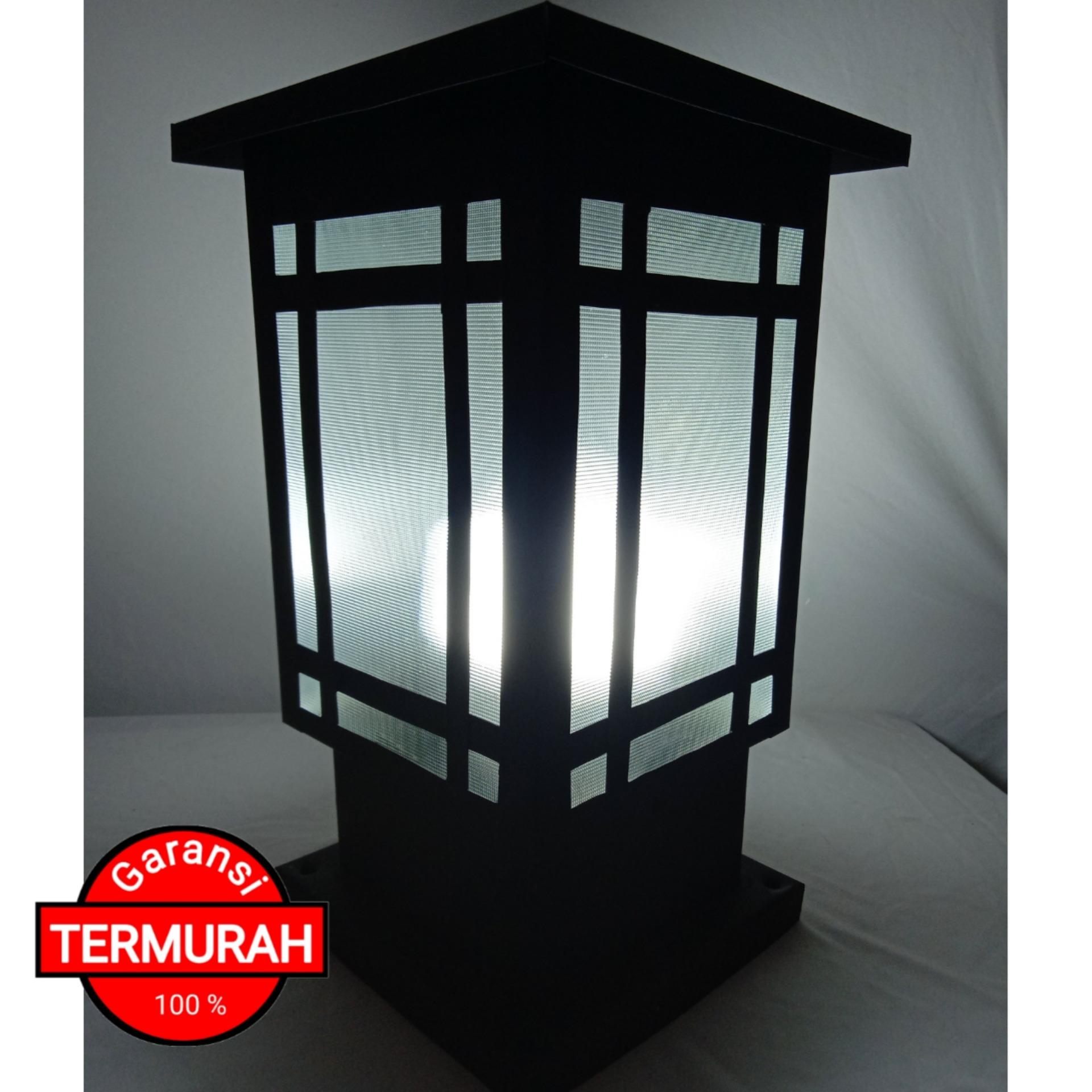 Lampu Hias Minimalis Taman Pilar Pagar Tipe Produk Original Ukm Lazada Indonesia