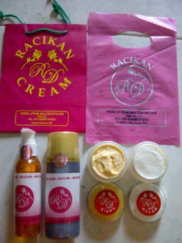 Cream RD Original 1paket 100% - Cream Racikan Dokter BerBPOM Paket Toner dan sabun