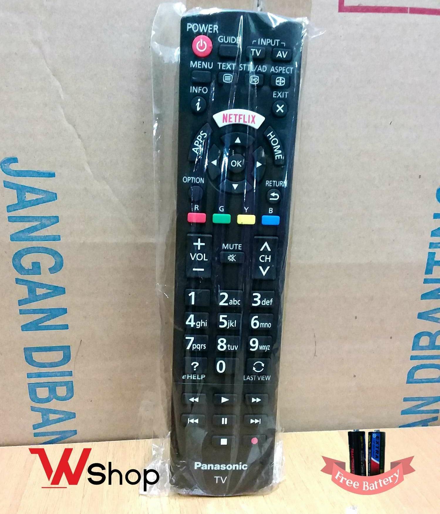 REMOTE/REMOT TV LCD LED NETFLIX HOME PANASONIC ORIGINAL