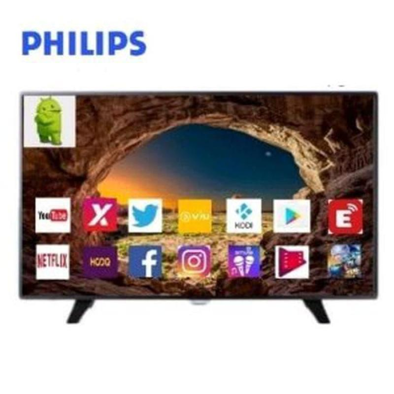 TV LED PHILIPS 32PHT5853S LED SMART TV 32 INCH ANDROID TV DVBT2 - 32PHT5853 (Khusus JADEBEK)