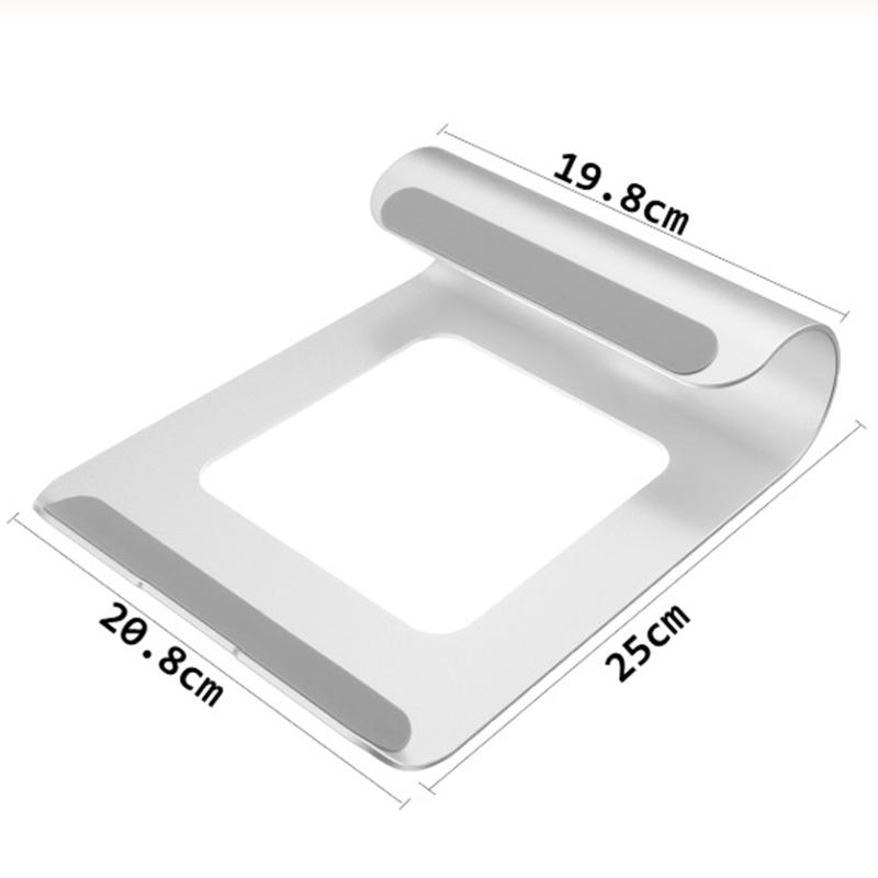 Bảng giá Aluminum Computer Holder Laptop Stand Desk Bracket Cooler Cooling Pad for IPad/iPhone/Notebook/Tablet/PC/Smartphone Phong Vũ