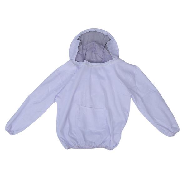 Professional Beekeeping Jacket Veil Bee Suit Dress Smock Equipment