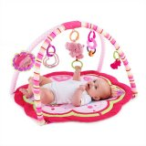 Jual Bright Starts Playmate Safari Sweet Pretty In Pink Activity Gym Pink Lengkap