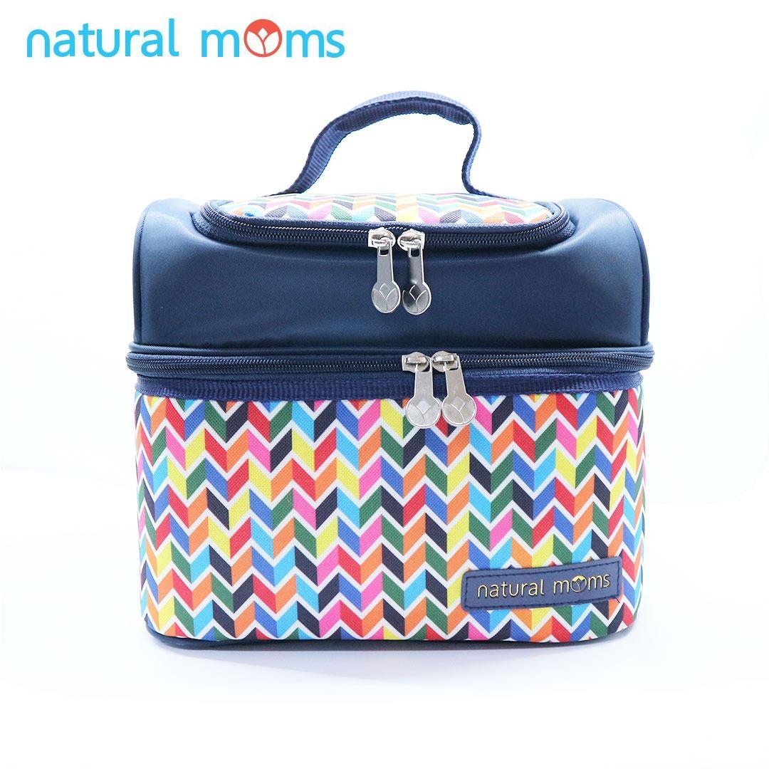 Thermal Bag / Cooler Bag Natural Moms - Sling Rainbow