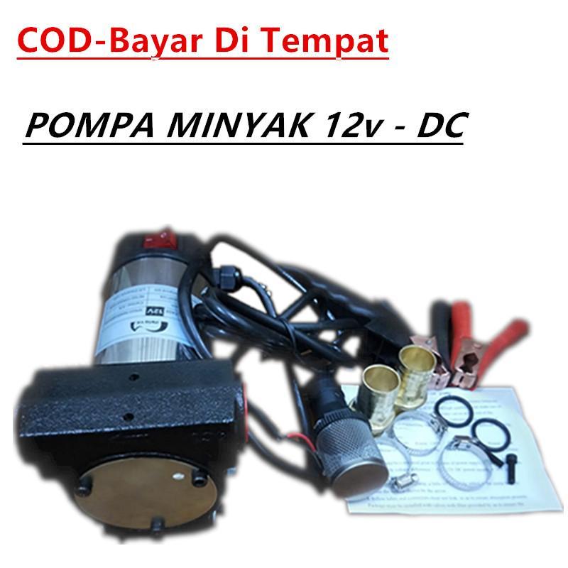 Maxpump 12 V Dc Portable Pompa Transfer Kendaraan Dengan Tugas Berat Truk 40l/menit-Internasional Pompa Baja Anti Karat Pompa Minyak Pompa Oli - Hitam By Poseidonpumpak.