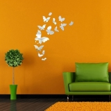 Review 14 Kupu Kupu Cantik Kombinasi Wall Stiker Cermin Dekoratif Diy Wall Stiker Terbaru