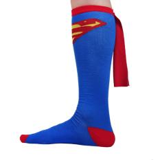 Beli 14 Pasang Panjang Batmen Tim Sepak Bola Basket Sport Soccer Laki Laki Perempuan Kaus Kaki Kaus Kaki Wonder Woman Superman Kostum Aksesoris Tiongkok
