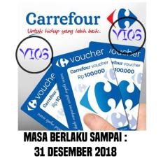 10 pcs Voucher Carrefour 100.000