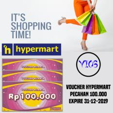 3 lembar voucher hypermart 100.000