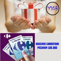 5 pcs Voucher Carrefour 100.000