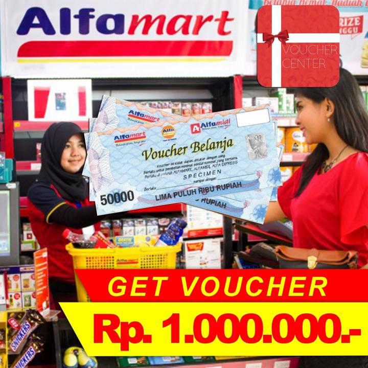 Voucher Alfamart Rp 1.000.000,-   Lazada Indonesia