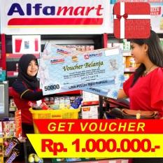 Voucher Alfamart  Rp 1.000.000,-