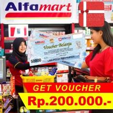Voucher Alfamart  Rp 200.000,-