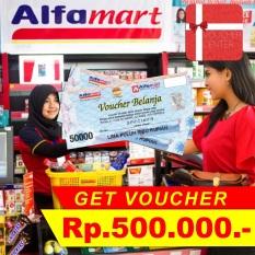 Voucher Alfamart  Rp 500.000,-