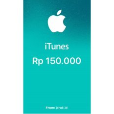 Apple iTunes Gift Card IGC Indonesia 150000