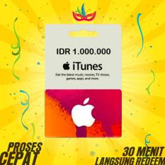 APPLE ITUNES GIFT CARD INDONESIA - Rp. 1.000.000
