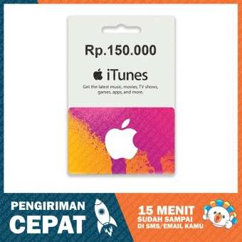 Jual Voucher Gift Card Itunes Indonesia Lazada Co Id