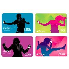 Apple iTunes Gift Card Region Indonesia Rp. 250.000
