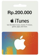 Apple iTunes Gift Card Rp.200 K