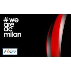 Kartu BCA Flazz E Toll Pass AC Milan Edition BCA07 - Hitam