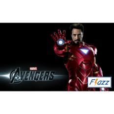 Kartu BCA Flazz E Toll Pass Iron Man Edition BCA46 - Hitam