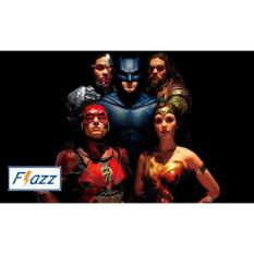 Kartu BCA Flazz E Toll Pass Justice League Hero Edition BCA21 - Hitam