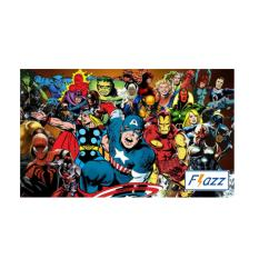 Kartu BCA Flazz E Toll Pass Marvel Super Hero Edition BCA43 - Multiwarna