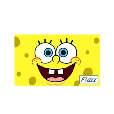 Kartu BCA Flazz E Toll Pass Spongebob Edition BCA41 - Kuning