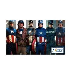 Kartu BCA Flazz E Toll Pass Captain America Hero Edition BCA42 - Multiwarna