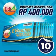Delta Spa - E-Voucher Rp.400,000 (10pcs) By Puri Group Official.