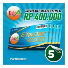 Delta Spa - E-Voucher Rp.400,000 (5pcs) By Puri Group Official.