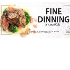 Fine Dining Voucher At Kanari Cafe By Kanari Cafe.