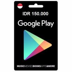 Google Play Gift Card - IDR 150.000 - Digital Code