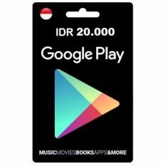 Google Play Gift Card - IDR 20.000 - Digital Code