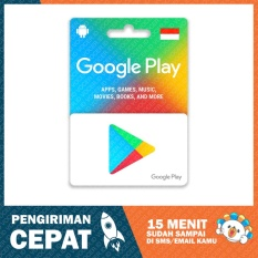 Google Play GiftCard Indonesia - Rp. 100.000,-